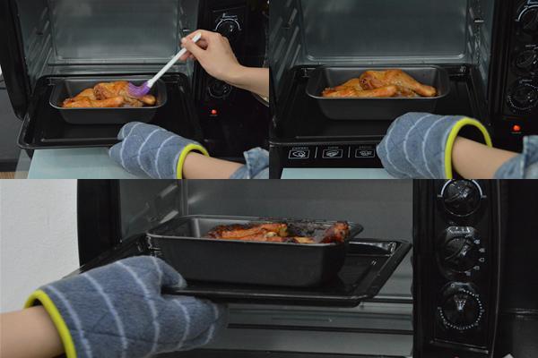 Cách làm đùi gà nướng mật ong bằng lò nướng