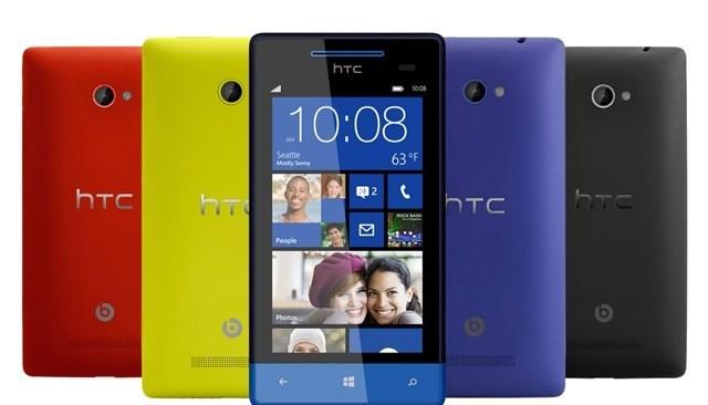 Điện thoại Windows Phone của HTC còn phải đợi cập nhật