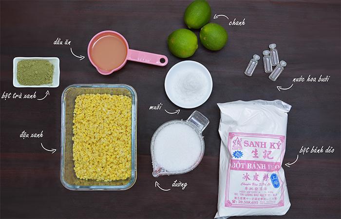 Bật mí công thức làm bánh dẻo trà xanh mùa Trung Thu