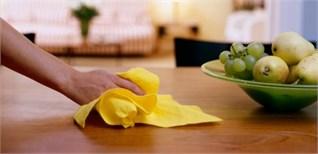 Học nhanh công thức tẩy rửa giúp nhà sạch đẹp