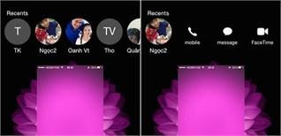 Hướng dẫn ẩn tính năng hiển thị lịch sử cuộc gọi trên iOS 8