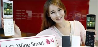 LG Wine Smart - Smartphone nắp gập độc đáo của LG chính thức ra mắt