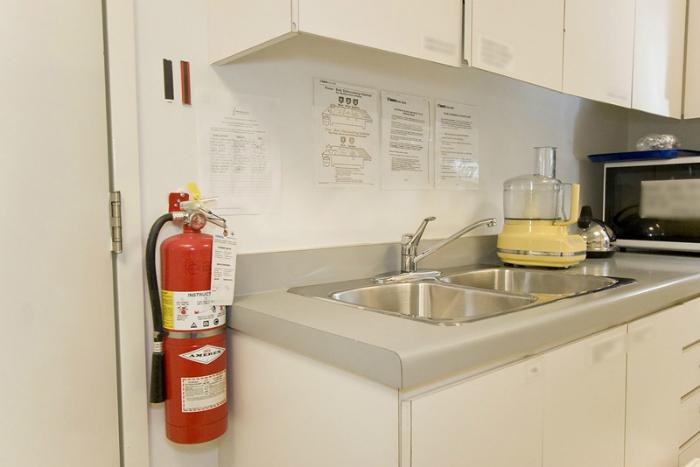 Trang bị bình chữa cháy để tránh bị hỏa hoạn