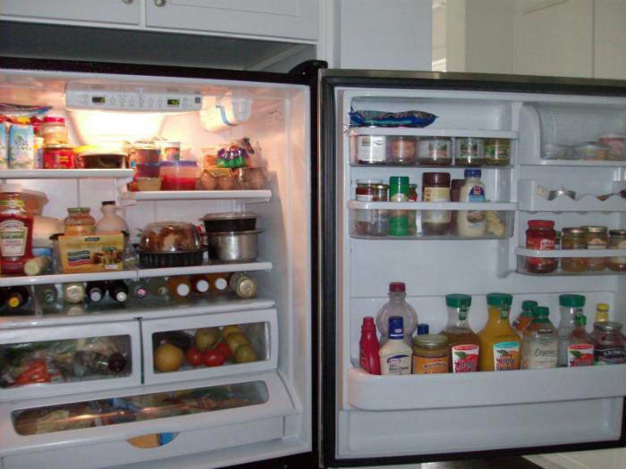 mẹo làm sạch nhà bếp - sắp xếp đồ ăn trong tủ lạnh