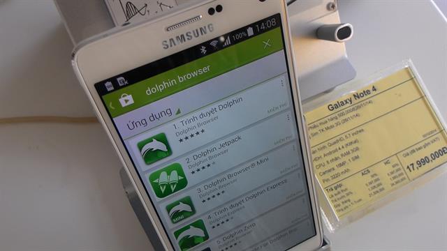 Hướng dẫn sử dụng Galaxy Note 4 và cài đặt Flash Player