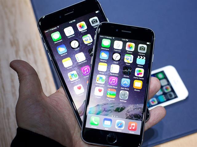 iPhone 6 màu xám có viền màn hình đen
