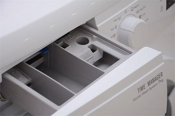 Time Manager giúp bạn làm chủ thời gian giặt với 4 mức lựa chọn tiện lợi