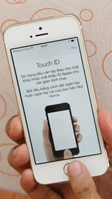 touch id trên iphone