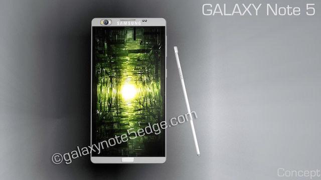 Chiêm ngưỡng bản thiết kế Galaxy Note 5 cực ngầu 5