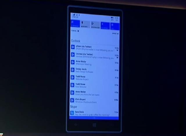 Hình ảnh Windows Phone 10 chính thức ra mắt, nhiều tính năng hấp dẫn số 1