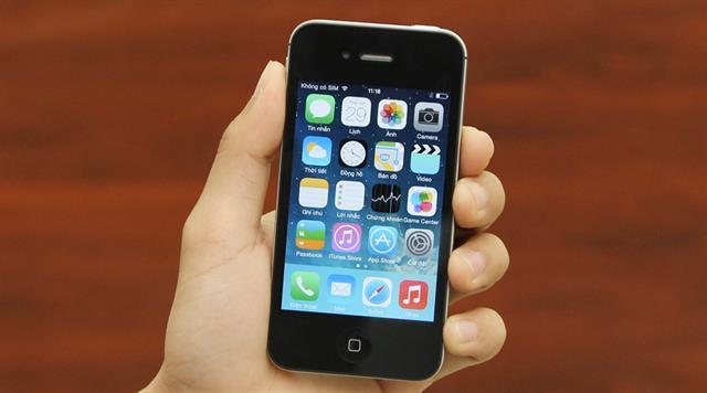 Apple iPhone 4S 8GB được thegioididong phân phối với giá bán 7.990.000 đồng