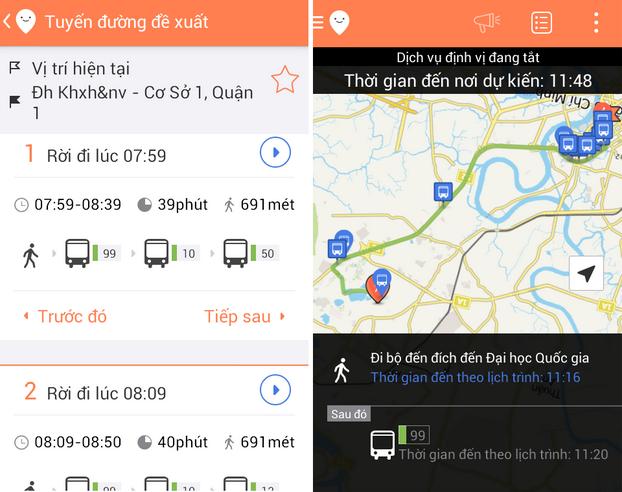 Moovit ứng dụng bản đồ giao thông cho sinh viên Việt Nam