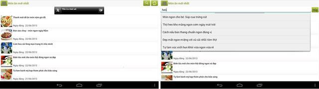 Android: 5 ứng dụng nấu ăn giúp bạn lên thực đơn cho 8/3 6