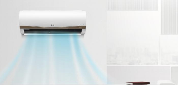 Máy lạnh hoạt động êm ái hơn khi sử dụng cánh quạt xiên