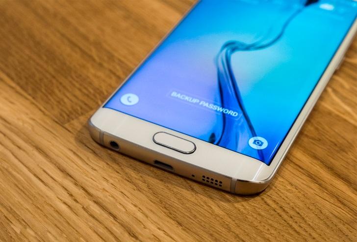 Galaxy S6 Edge phím home