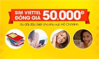 Sim Viettel đồng giá 50.000đ