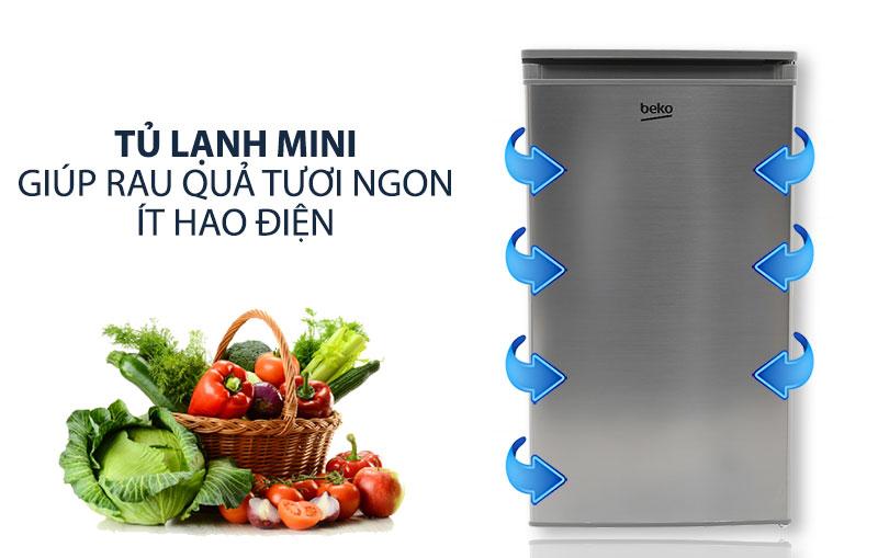 Tủ lạnh mini Beko giá rẻ