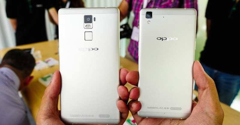 Loạt ảnh trên tay Oppo R7 và R7 Plus 6