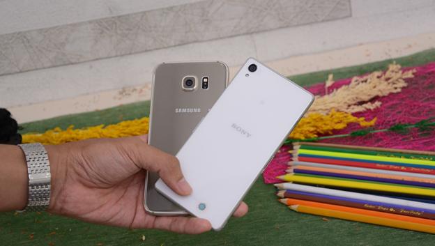 So sánh Samsung Galaxy S6 và Sony Xperia Z3 - 2