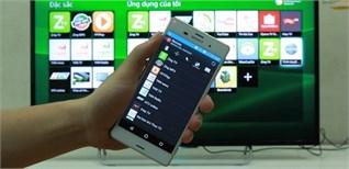 Cách sử dụng điện thoại để điều khiển Smart tivi Sony thông qua ứng dụng TV SideView