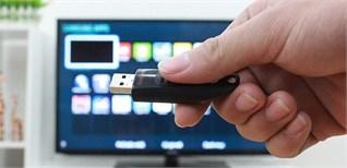 Cách xem nội dung trong USB trên tivi Sharp