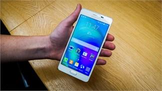 Trên tay Galaxy A8, smartphone mỏng nhất của Samsung