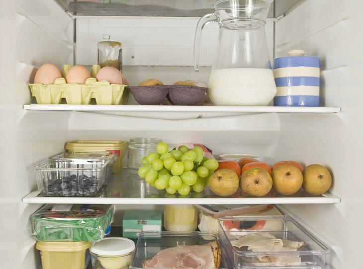 Vậy nên bạn hãy đặt trứng, sữa, các loại thịt hoặc hải sản muốn dùng nhanh hay rã đông ở đây