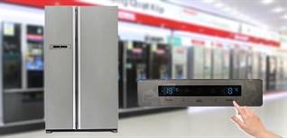 Cách sử dụng bảng điều khiển tủ lạnh Sharp SJ-E62 577 lít