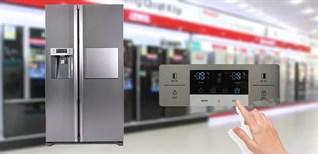 Cách sử dụng bảng điều khiển tủ lạnh Sharp SJ-X60LWB 538 lít