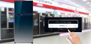 Cách sử dụng bảng điều khiển tủ lạnh Toshiba GR-WG66VDAZ 600 lít