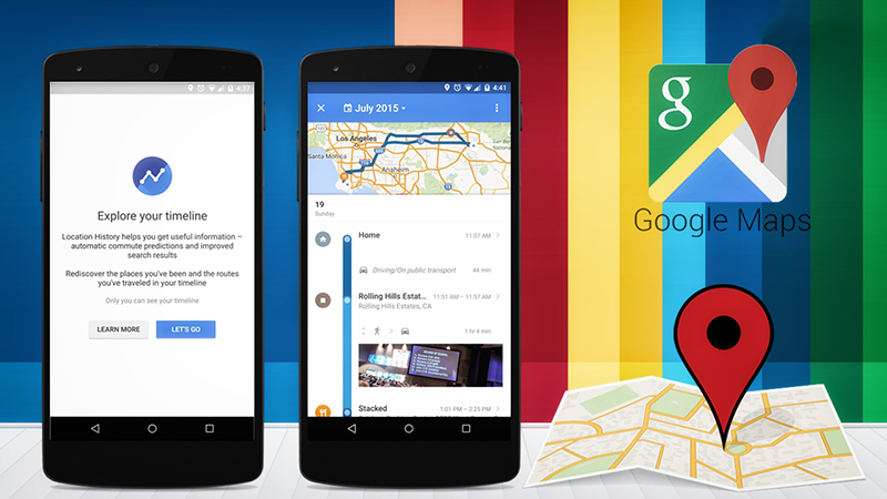 Google Maps Your Timeline