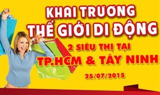 Tưng bừng khai trương siêu thị thegioididong tại TP.HCM và Tây Ninh
