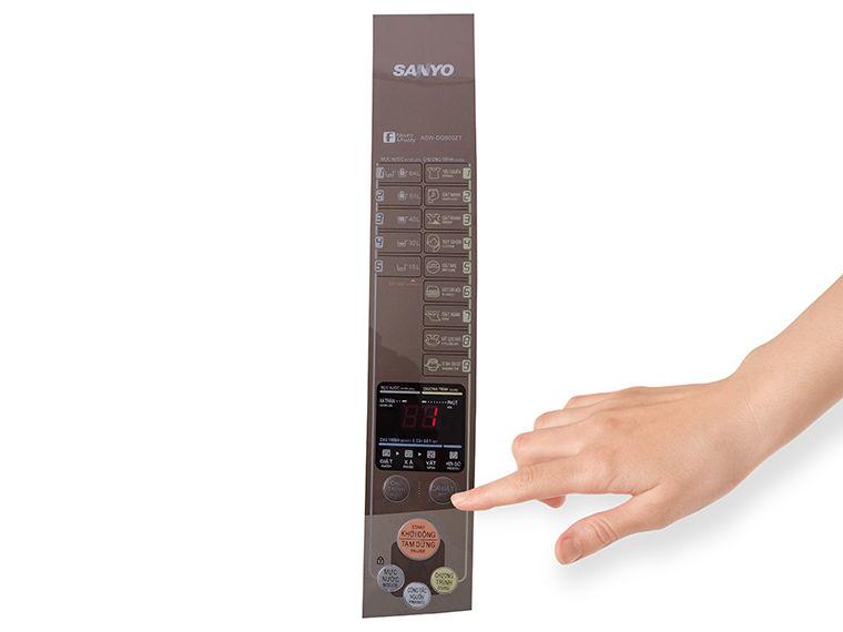 Cách sử dụng bảng điều khiển máy giặt Sanyo ASW-DQ900ZT