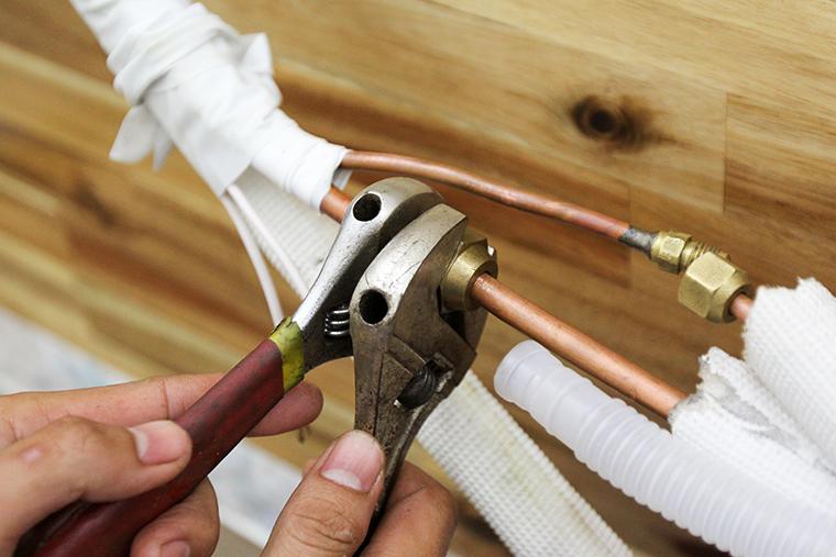 Loe đầu ống đồng để kết nối
