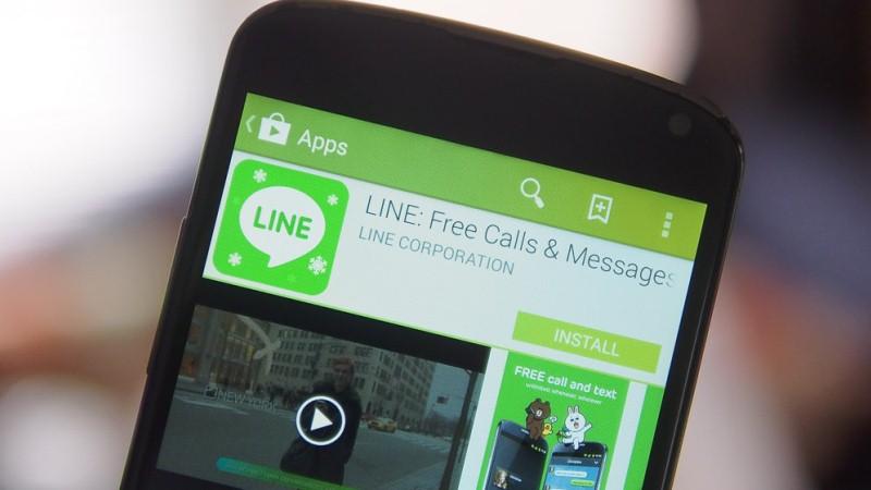 Tạo tài khoản Line trên mobile 1