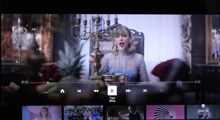 Thoải mái thưởng thức video Youtube trên màn ảnh rộng