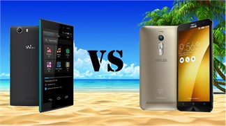 Asus ZenFone 2 vs Wiko Ridge Fab 4G, lựa chọn nào 'đáng đồng tiền, bát gạo'?