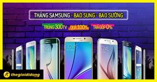 Tháng khuyến mãi khủng- Mua Samsung ngay hôm nay, cơ hội trúng 300 TV LED 40 inch!