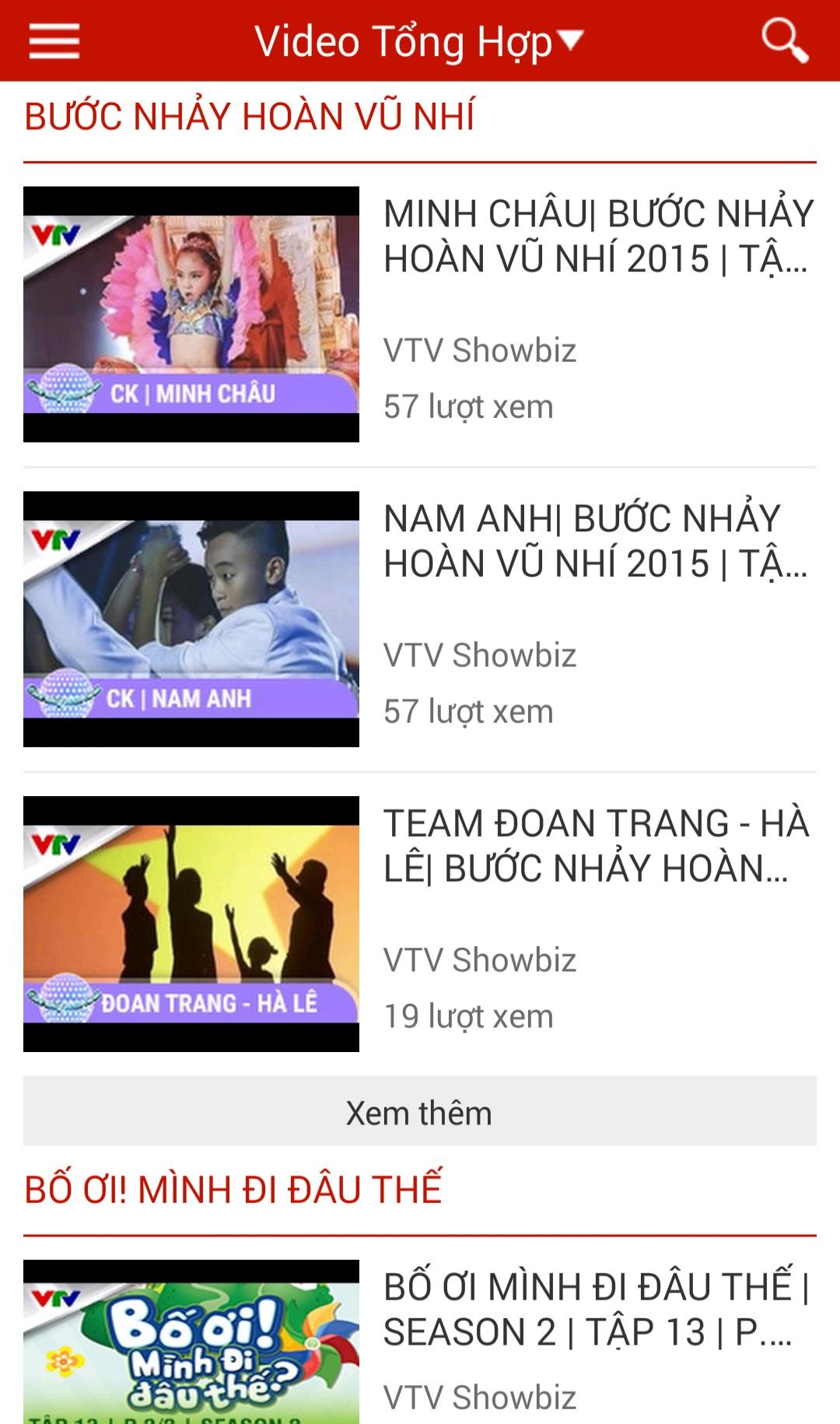 Hướng dẫn VTV Go 7