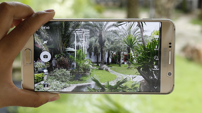 Giao diện camera Note 5