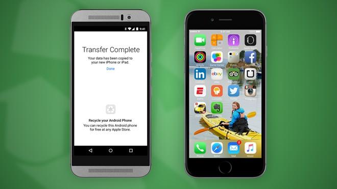 Move to iOS ra mắt ngay trước thời điểm 2 mẫu iPhone mới của Apple lên kệ (25/9)