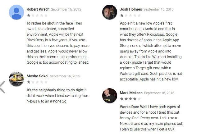 Move to iOS: Nước cờ thông minh hay trò lố?