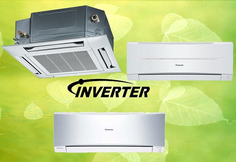 Máy lạnh Panasonic được trang bị công nghệ inverter làm lạnh cực nhanh và tiết kiệm điện