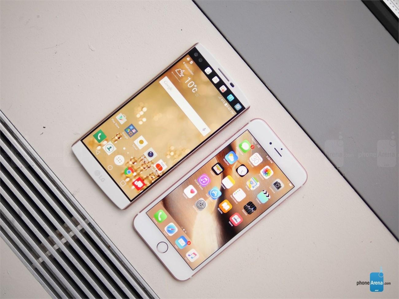 iPhone 6s Plus vs LG V10