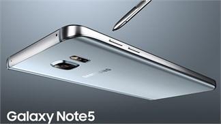 Galaxy Note 5 phiên bản màu đặc biệt độc quyền bán ra tại Thegioididong