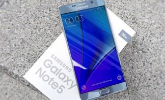 Mở hộp Galaxy Note 5 phiên bản Silver Titanium độc quyền tại Thegioididong