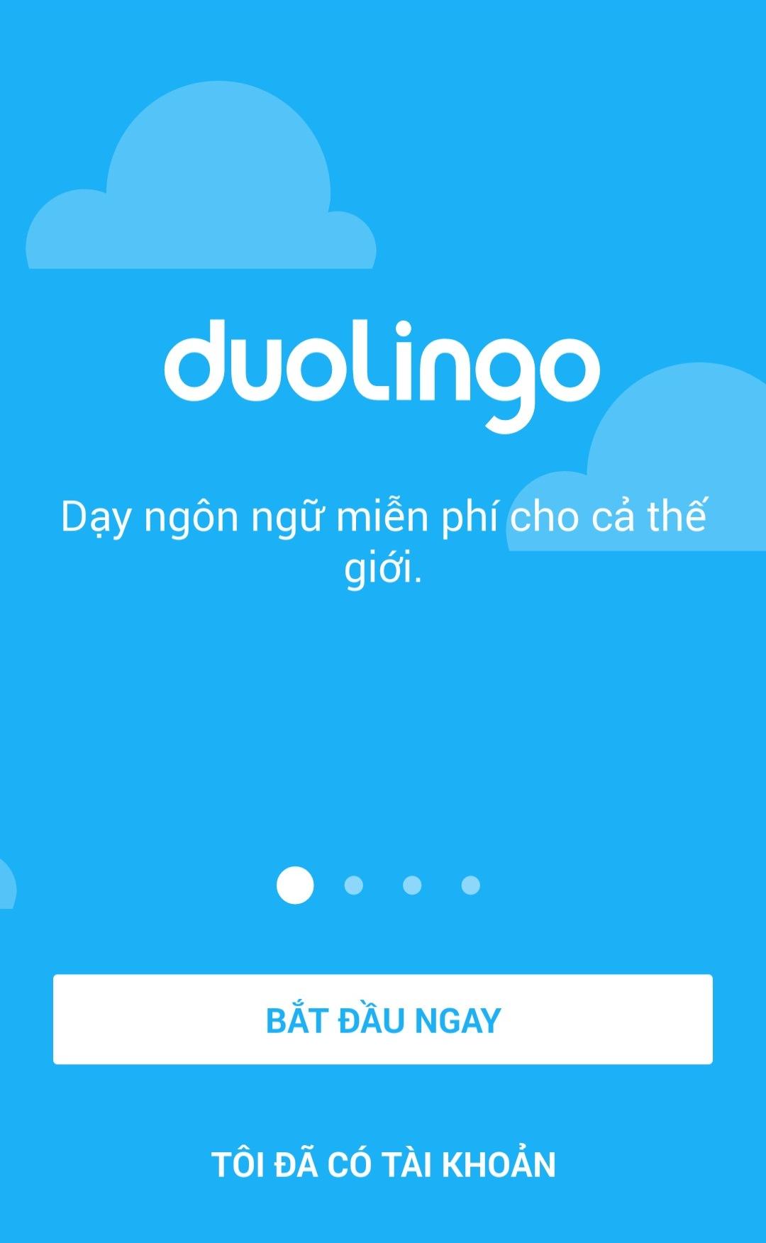 Ứng dụng Duolingo 1