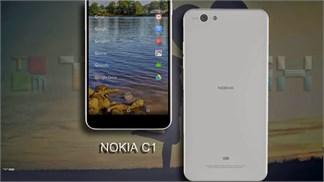 Thiết kế Nokia C1 chạy Android và Windows Phone vừa bước ra ánh sáng?