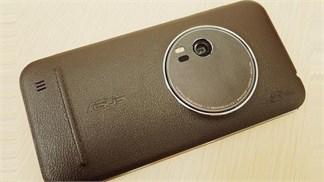 Zenfone Zoom vỏ da với camera khủng, RAM 4GB chính thức ra mắt