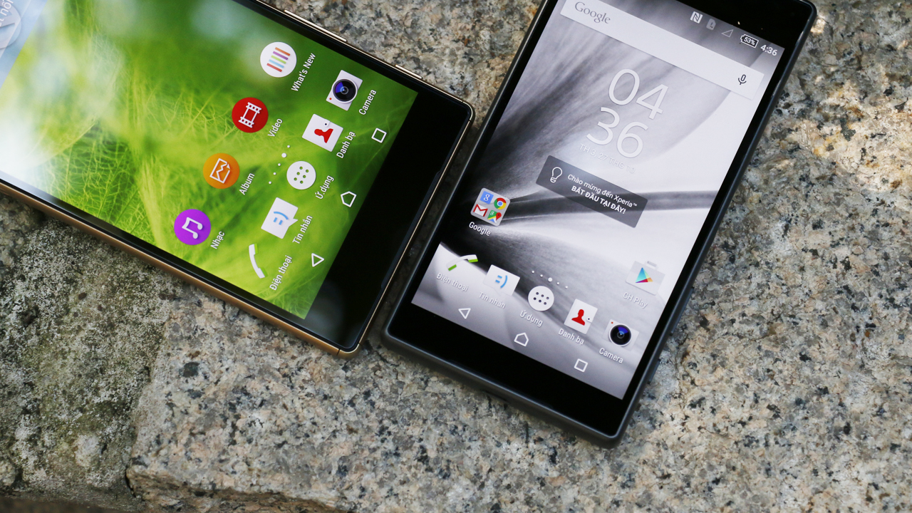 Sony Xperia Z5 Dual và Sony Xperia Z5 Compact